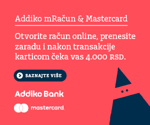 Addiko mRačun & Mastercard