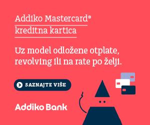 Addiko Mastercard kreditna kartica
